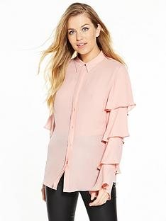 v-by-very-ruffle-long-sleeve-blouse