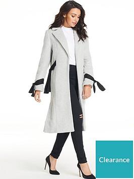 michelle-keegan-tie-sleeve-coat