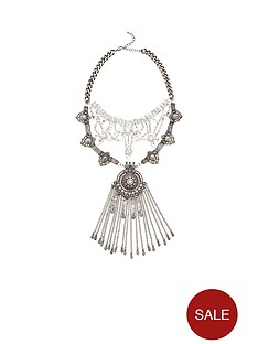 v-by-very-statement-chain-drop-layered-necklace