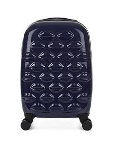 lulu-guinness-lips-4-wheel-spinner-cabin-case