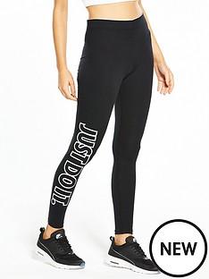 nike-sportswear-clubnbspshinenbspleggings-black