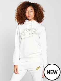 nike-metallic-shine-rally-hoodie-whitenbsp