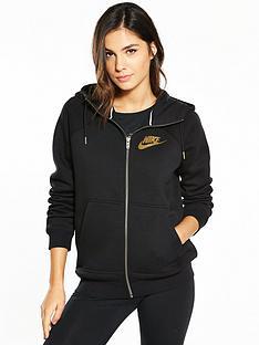 nike-sportswear-metallic-shine-rally-full-zip-hoodie