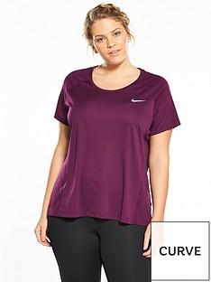 nike-running-dry-miler-top-plus-size-burgundynbsp
