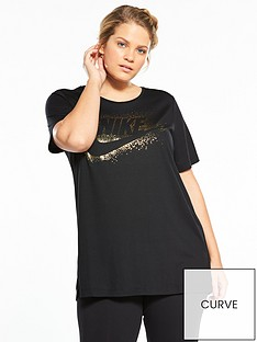nike-sportswear-essentialnbspshine-t-shirt-plus-size-blacknbsp
