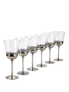 ideal-home-silver-ombre-glasses-set-of-6