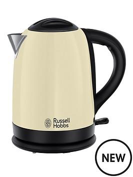 russell hobbs 20094 dorchester kettle cream. Black Bedroom Furniture Sets. Home Design Ideas