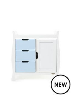 obaby-stamford-changing-unit-white-amp-bon-bon-blue