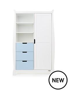 obaby-stamford-wardrobe-white-amp-bon-bon-blue