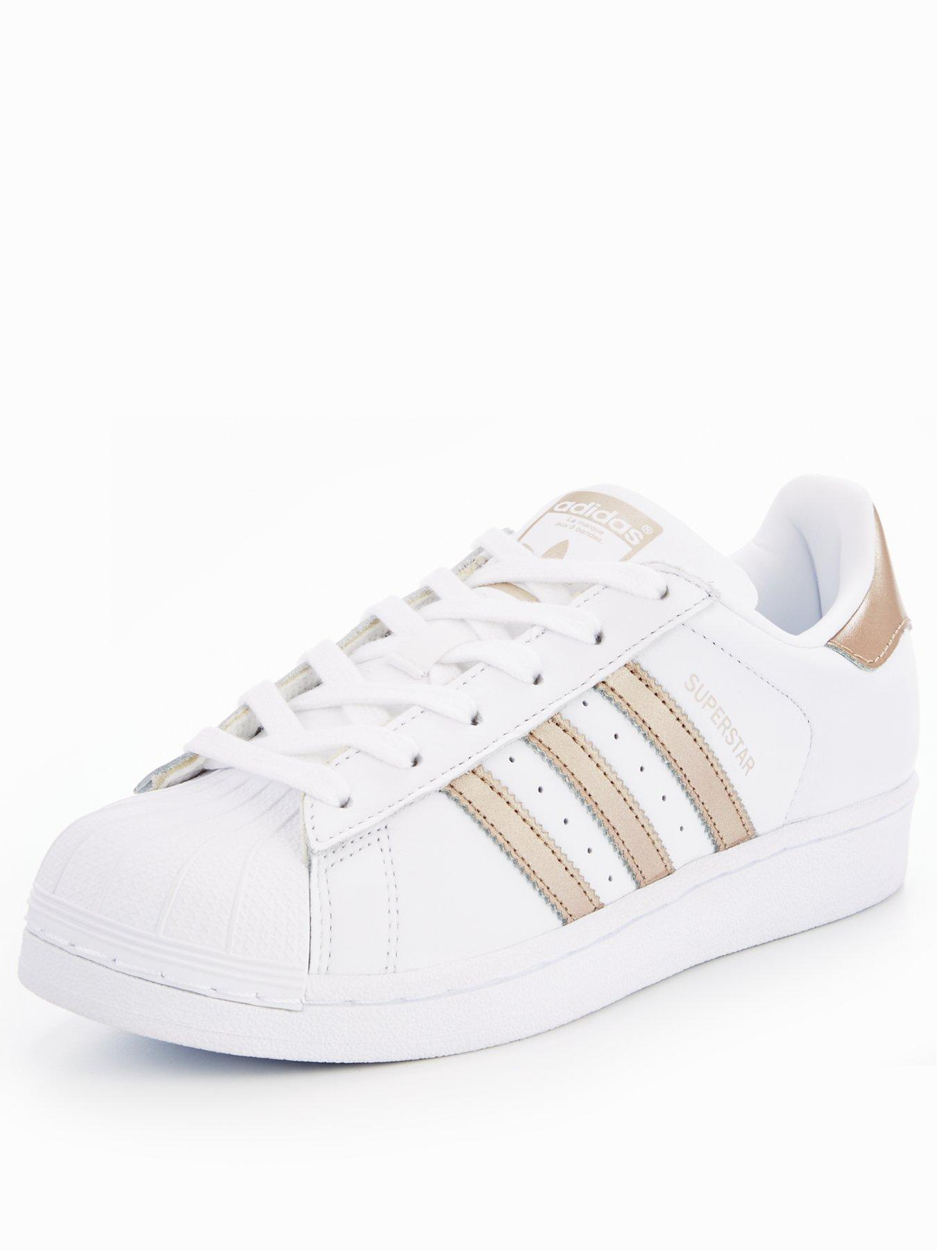 adidas Originals Superstar - White/Gold