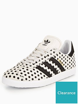 7287d915a10 adidas Originals Gazelle - White Black