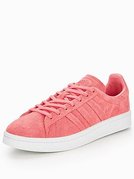 size 40 3d93c 176d0 adidas Originals Campus Stitch  Turn - Pink