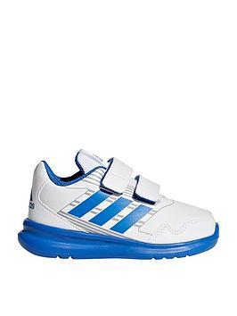 adidas-altarun-cf-infant-trainers-whiteblue
