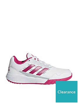 adidas-altarun-childrens-trainers-whitepink