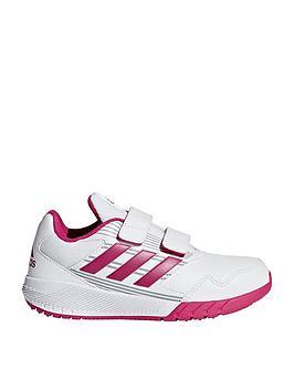adidas-altarun-cf-childrens-trainers-whitepink