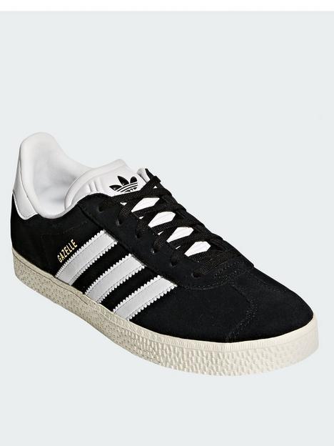 adidas-originals-gazelle-junior-trainer-black