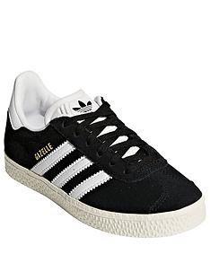adidas-originals-gazelle-childrens-trainer-blackwhitenbsp