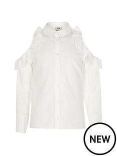 river-island-girls-white-frill-cold-shoulder-shirt