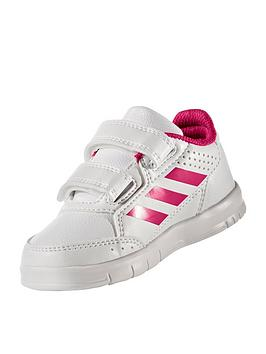 adidas-altasport-cf-infant-trainers-whitepink