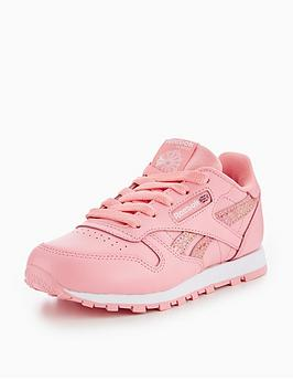 b90d4d59672 Reebok Reebok Classic Leather Spring Childrens Trainer ...