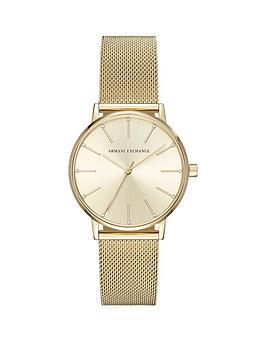 armani-exchange-lola-gold-tone-mesh-bracelet-ladies-watch