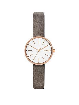 skagen-skagen-signatur-grey-leather-strap-ladies-watch