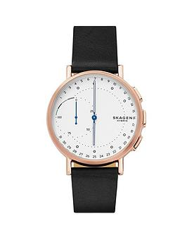 skagen-skagen-signatur-connected-hybrid-black-leather-strap-men039s-smartwatch