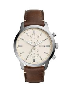 fossil-fossil-townsman-steel-case-leaher-strap-mens-watch