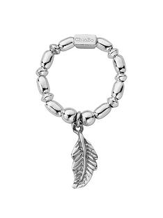 chlobo-sterling-silver-mini-rice-feather-ring