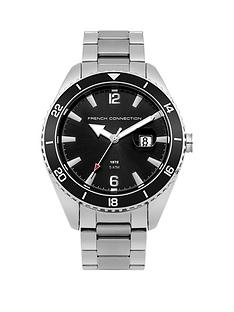 french-connection-black-dial-with-black-bezel-stainless-steel-mens-watch