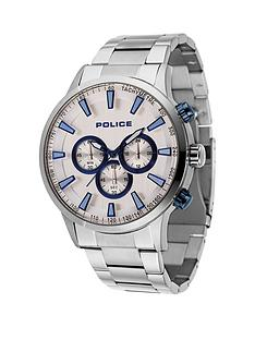 police-police-silver-bracelet-watch-with-silver-dial
