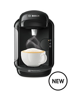 prod1090403841: TAS1402GB Vivy Pod Coffee Machine - Black
