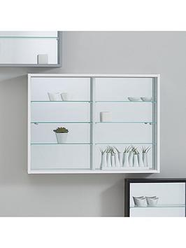 orbit-wall-mounted-glass-door-mirrored-back-display-unit-white