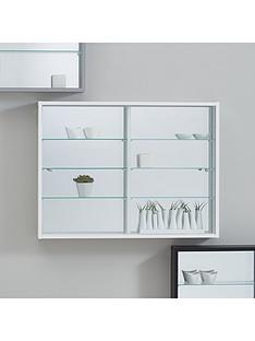 orbit-wall-mounted-glass-door-mirrored-back-display-unit-silver