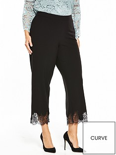 v-by-very-curve-lace-hem-cropped-trouser-black