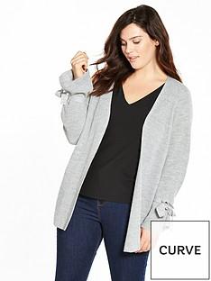 v-by-very-curve-tie-sleeve-cardigan