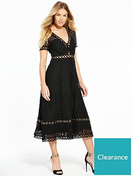 v-by-very-lace-eyelet-midi-dress