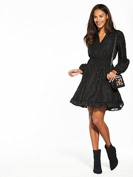 Buy Cheap For Cheap V Star Very Dress  Jacquard Skater Black by Buy Cheap Visit Discount Real With Mastercard Cheap Online MZEV9ohYlN