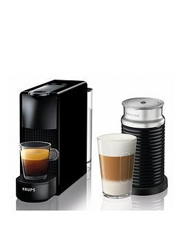 nespresso-xn111840-essenza-mini-coffee-machine-with-aeroccinonbspby-krupsnbsp--black