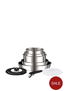 tefal-ingenio-13-piece-saucepan-set--nbspstainless-steel