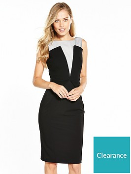 karen-millen-graphic-panelled-dress
