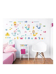 walltastic-mermaid-wall-sticker-pack