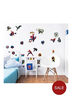 walltastic-marvel-spiderman-wall-stickers-12-pack