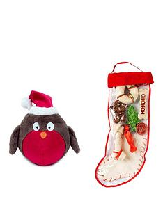 petface-advent-dog-bundle--rawhide-stocking-and-robin-toy