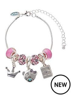me-to-you-tatty-teddy-silver-plate-princess-beaded-bracelet