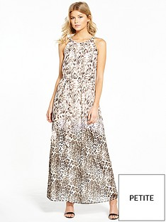 wallis-petite-animal-print-event-maxi-dress