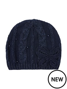 monsoon-sparkle-cable-butterfly-beanie