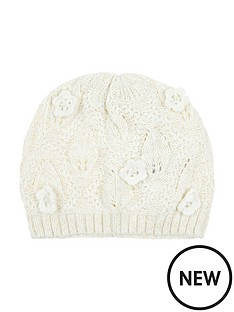 monsoon-pearl-daisy-knitted-beanie