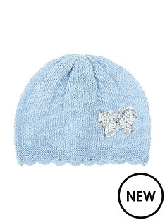 monsoon-pearl-butterfly-knitted-beanie