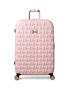 ted-baker-beau-pink-4-wheel-large-case